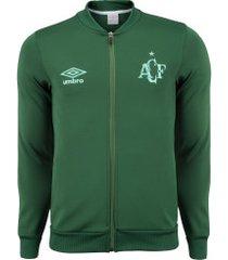 jaqueta da chapecoense hino 2020 umbro - masculina - verde