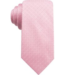 ryan seacrest distinction men's gaffney slim geo tie, created for macy's