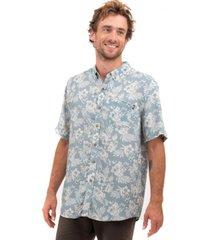 camisa manga corta tropico celeste froens