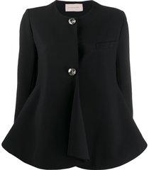 christopher kane crystal bell jacket - black