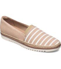 serena paige sandaletter expadrilles låga beige clarks
