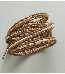 shell game 5-wrap bracelet