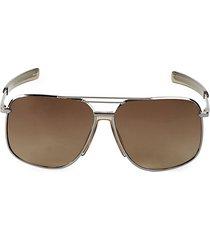 62mm oversized square sunglasses