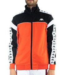 chaqueta para hombre 222banda merez kappa naranja kappa