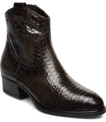 woms boots shoes boots ankle boots ankle boot - heel grön tamaris