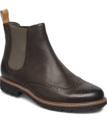 batcombe top shoes chelsea boots brun clarks