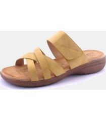 sandalia gigo amarillo chalada