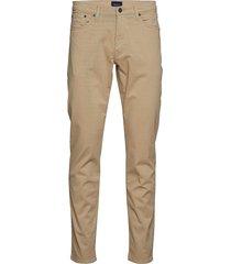 slim desert jeans slimmade jeans beige gant
