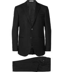 corneliani two piece evening suit - black