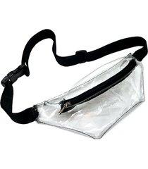 riñonera transparente longtemps fanny pack