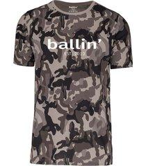 grijs camouflage shirt