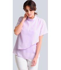 blouse alba moda lila