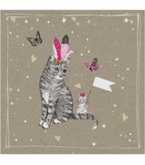 "hammond gower fancy pants cats iii canvas art - 27"" x 33"""