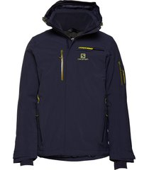 brilliant jkt m outerwear sport jackets blauw salomon