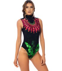 body kalini beachwear exclusive divine preto