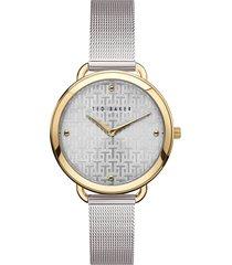 women's ted baker london hettie mesh strap watch, 37mm