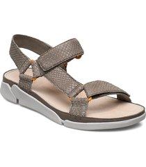 tri sporty shoes summer shoes flat sandals grön clarks