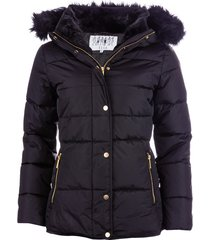 elle womens zoe down jacket size 16 in black