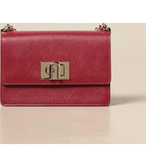 furla crossbody bags 1927 furla bandolier bag in grained leather
