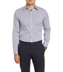 men's bonobos buckland trim fit stretch check dress shirt