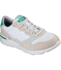 zapatilla city jogger blanco skechers