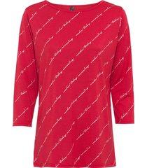 maglia con stampa lucida (rosso) - rainbow