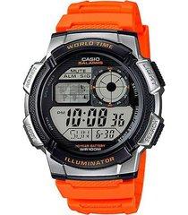 reloj casio juvenil digital hombre ae-1000w-4b