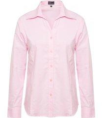 blusa oxford rosado mujer rossignol