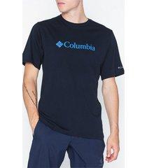 columbia basic logo tee t-shirts & linnen navy