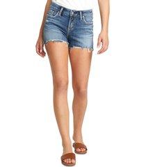 silver jeans co. elyse cutoff denim shorts