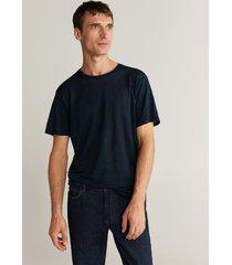 t-shirt van 100% linnen