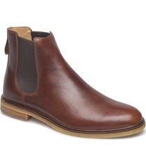 clarkdale gobi shoes chelsea boots brun clarks