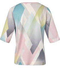 trui met korte mouwen van dingelstädter multicolour