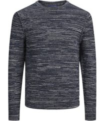 jack & jones men's structured long sleeve sweater