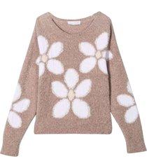monnalisa girl dove gray sweater