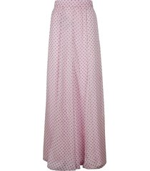 philosophy di lorenzo serafini polka dot long skirt