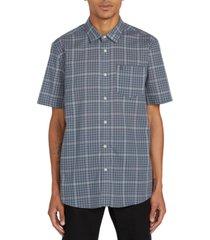 volcom men's kelso plaid shirt