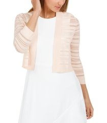 calvin klein shadow-stripe shrug