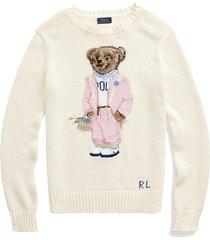 picnic polo bear sweater