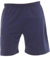 pijama algodão mechler short azul