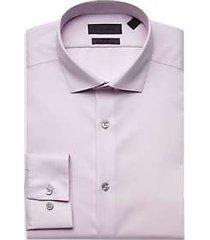 calvin klein infinite non iron slim fit pink dress shirt