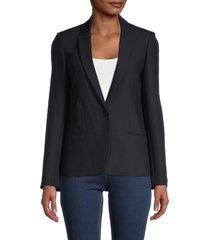 zadig & voltaire women's vedy love strass jacket - navy - size 36 (s)