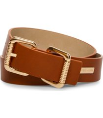 steve madden double-head roller-buckle belt