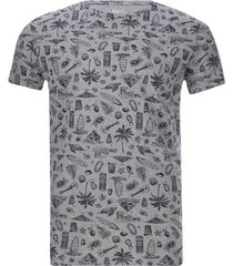 camiseta hombre playa color gris, talla xl
