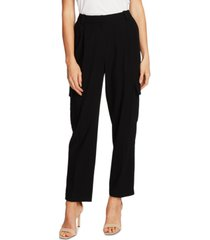 vince camuto textured twill cargo pants