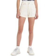 levi's denim mom shorts