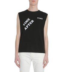 saint laurent sleeveless t-shirt