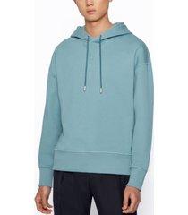 boss men's hooded sweatshirt