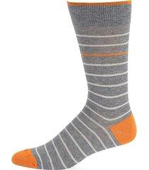 simple stripe crew socks