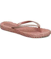 flipflop with glitter shoes summer shoes flip flops rosa ilse jacobsen